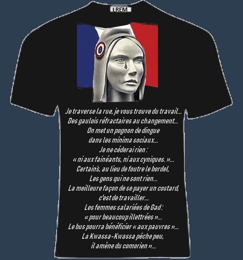 teeshirt marianne art 68