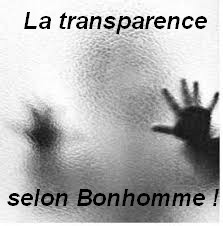 transparence bonhomme